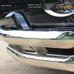 Защита переднего бампера d63 (секции) d63 (уголки) Toyota Land Cruiser Prado 150 2014+