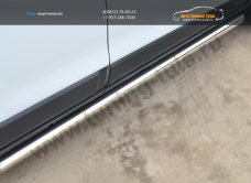 Chevrolet Captiva 2013- Пороги труба D63 (вариант 1) /арт.185-5