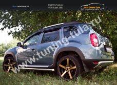 NRD-026702 Накладки арок колес/ Расширители арок АБС-пластик / Рено Дастер/ Duster/арт.144-19