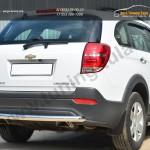 Chevrolet Captiva 2013- Защита заднего бампера D63(дуга)