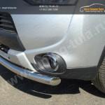 Защита бампера передняя  d60,3мм Митсубиши Outlander 2014+