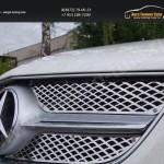 Решетка радиатора нерж-сталь MERCEDES-BENZ  E 200 2013+