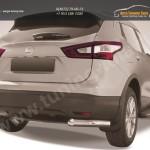 Защита задняя уголки d76 Nissan Qashqai 2014+