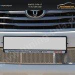 акладка на решетку в бампер тнх-1201 TOYOTA HILUX 2012+