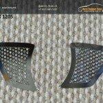 Накладка на противотуманки 2шт. THX 12-05 вар.1 TOYOTA HILUX 2012+