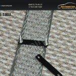 Накладка на решетку в бампер trv-1301 вар.1 TOYOTA RAV-4 2013+
