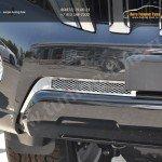 Накладка на решетку в бампер tlp-1401 2шт. LAND CRUISER PRADO 150 2014+