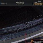 Защита заднего бампера от царапин РА Nissan Terrano 2014+