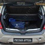 Защита заднего бампера Renault SANDERO 2009 +