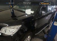Пороги алюминиевые (Alyans) Chevrolet TrailBlazer 2013+/арт.719-12