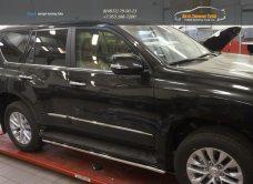Защита штатных порогов Lexus GX460 (2014-) d42/арт.300-21