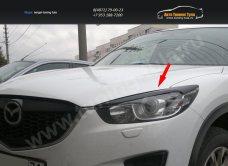 Накладки фар передние/ресницы MAZDA CX 5 2012 +/арт.636-4