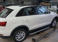 Пороги алюминиевые (Alyans) Audi (Ауди) Q3 2011+/арт.750