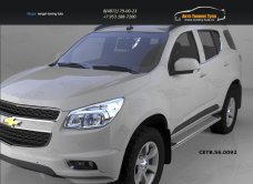 Пороги алюминиевые (Opal) Chevrolet TrailBlazer 2013+/арт.719-14