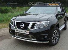 Защита передняя нижняя 60,3 мм Nissan Terrano 2014/арт.144-24