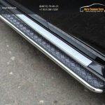 Пороги с площадкой 42,4 мм для Nissan Nissan Terrano 2014