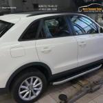 Пороги алюминиевые (Alyans) Audi (Ауди) Q3 2011+