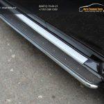 Пороги с площадкой (нерж. лист) 42,4 мм Nissan Terrano 2014
