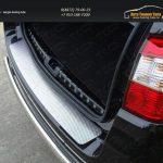 Накладка на задний бампер лист зеркало варт.2 Nissan Terrano 2014