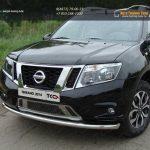 Защита передняя нижняя 60,3 мм Nissan Terrano 2014