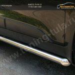Пороги труба d60 Hyundai IX-35 2012+