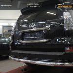 Защита заднего бампера Lexus GX460 (2014-) (одинарная) d76