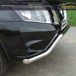 Защита передняя (кенгурин) 60,3 мм дл Nissan Terrano 2014+
