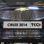 Решетка радиатора верхняя и нижняя лист CRUZE 2014+