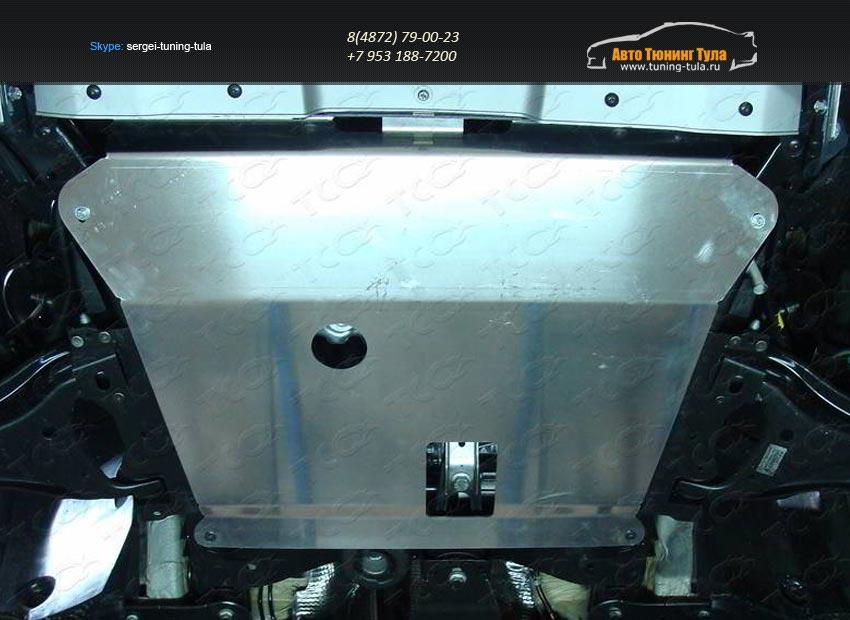 Защита картера (алюминий) 4 мм  Nissan Terrano 2014 /арт.144-34