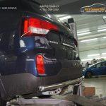Защита заднего бампера Kia Sorento (Киа Соренто) (2012-) (одинарная) d60