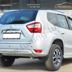 Nissan Terrano 2014-  Защита заднего бампера d63 (дуга)