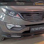 Решетка радиатора Sport 3 КИА Спортаж 3/Тюнинг Sportage 3 2014+