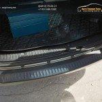 Накладка на задний бампер от царапин/АБС-пластик/ Лада Ларгус