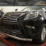 Защита переднего бампера Lexus GX460 (2014-) (одинарная) d76
