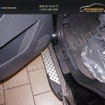 Пороги алюминиевые (Sapphire) Geely (Джили) Emgrand X7 2014+
