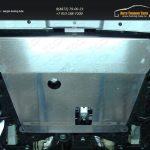 Защита картера (алюминий) 4 мм  Nissan Terrano 2014