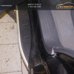 Пороги алюминиевые (Alyans) Chevrolet TrailBlazer 2013+