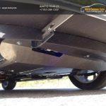 Защита картера (алюминий) 4мм KIA SOUL 2014+