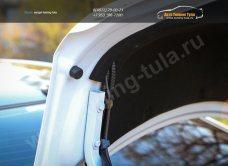 Обшивка крышки багажника+капота Hyundai Solaris седан 2010+/арт. 525-4