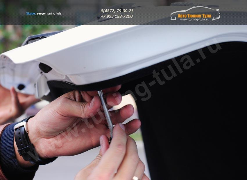 Обшивка крышки багажника  Lada Priora седан/арт.542-1