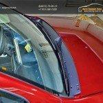Жабо №2 «КАРТ» KART RD 0102МК (тиснение)для Рено Дастер /Renault Duster