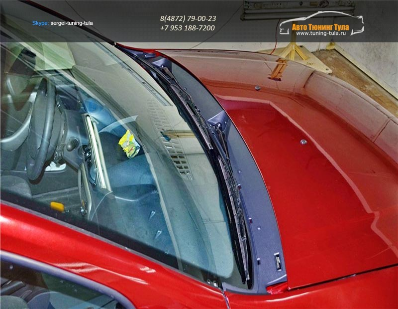 Жабо №3 MK «КАРТ» KART RD 0102МК (тиснение)для Рено Дастер /Renault Duster / Nissan Nerrano 2014 /арт.386-14
