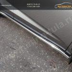 Пороги труба 60,3 мм Lexus NX 300H 2014+