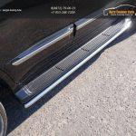 Защита порогов 42,4 мм LEXUS LX Sport 570 2014+