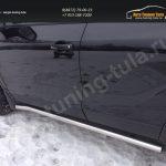 Пороги труба d53 Opel MOKKA 2012+