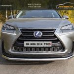 Защита передняя нижняя 60,3 мм Lexus NX 300H 2014+