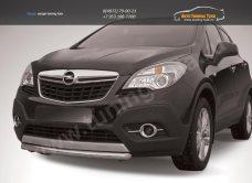 Защита переднего бампера d57 короткая Opel MOKKA 2012+/арт.723-10