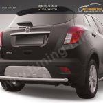 Защита заднего бампера d57 радиусная Opel MOKKA 2012+