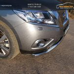 Защита передняя (кенгурин) 60,3 мм Nissan Pathfinder 2014+