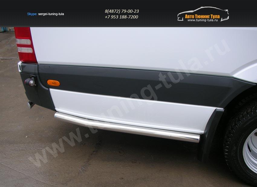 Боковая защита труба d60 Mercedes-Benz Sprinter 515 2014+/арт.803-2